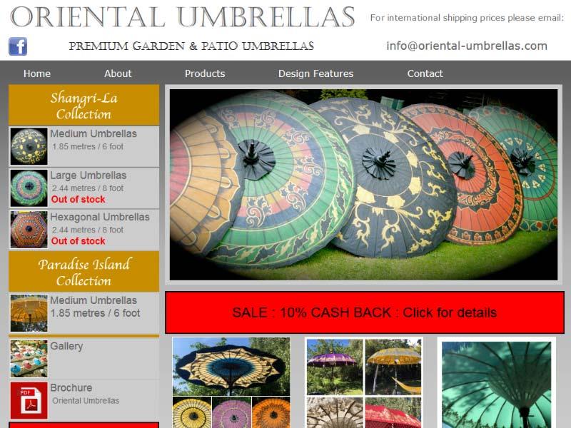 Oriental Umbrellas
