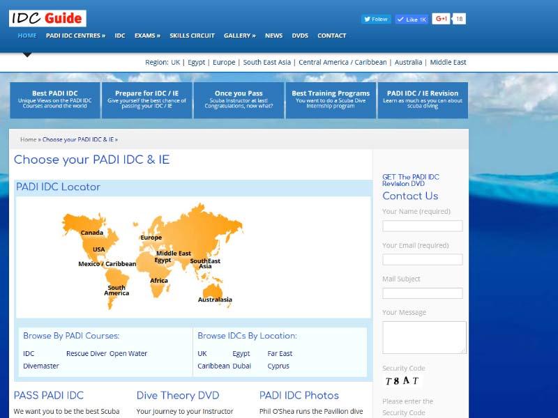 PADI IDC Guide